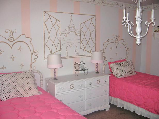 Dormitorios para hermanas en rosa dormitorios con estilo for Dormitorio rosa