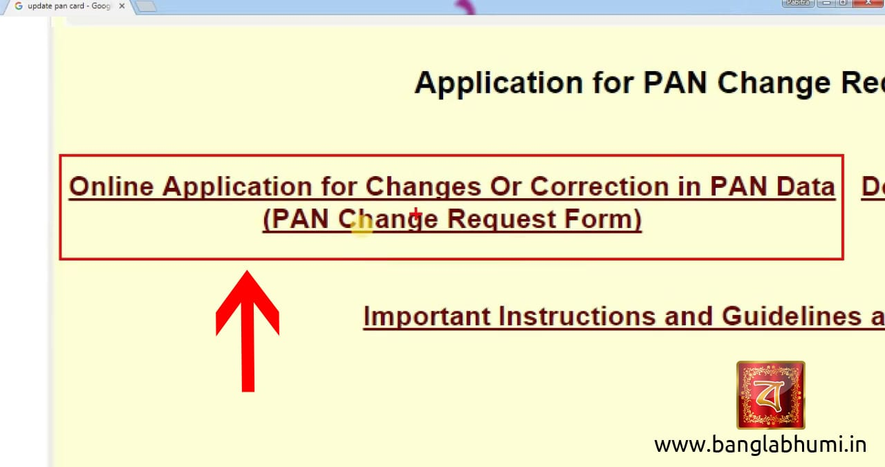 How To Update Your Pan Card Online In Easy Step Update