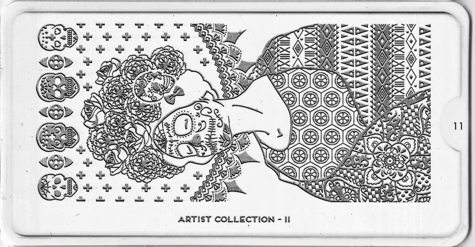 Moyou London Stamping Plate The Artist Collection 11