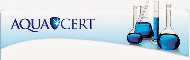 Aquacert website