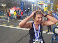 Maggie at Cal Int'l Marathon 2016