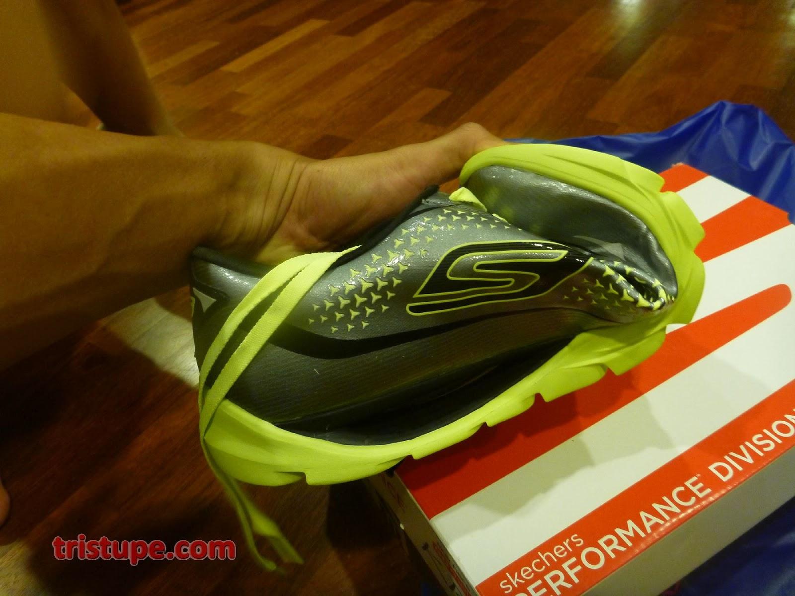 Black Skechers For Work Mens Slip Oxford Shoe