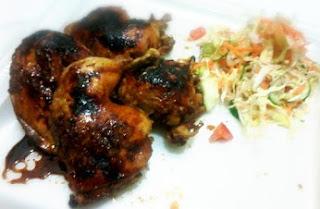Resep Cara Membuat Ayam Bakar Kecap ala Bunda Hrwa San