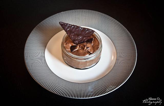recette cuisine mousse chocolat Caramandes