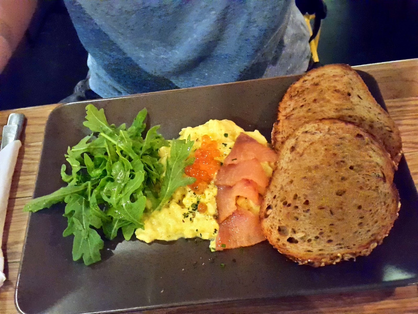 Omega 3 Omelette The Assembly Ground Cafe Singapore