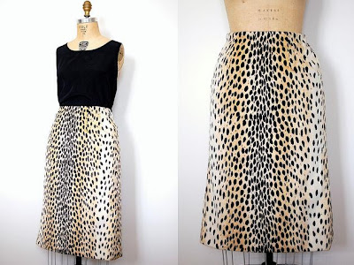 Animal Print Dress on Leopard Print Lovelies