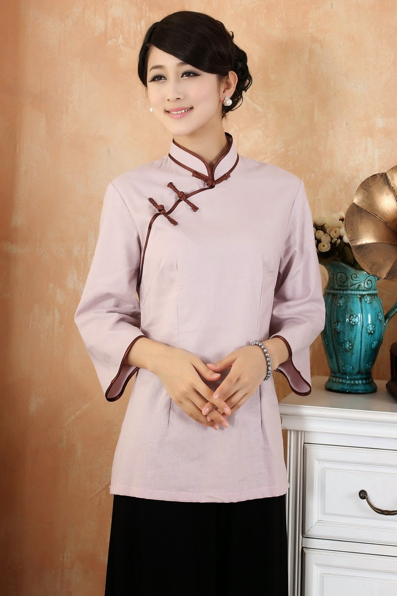 Linen Cheongsam Top