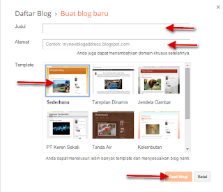 Cara Membuat Blog di Blogger Lengkap dengan Penjelasan
