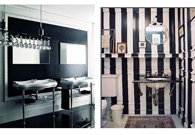 bagni bianchi e neri ~ la scelta giusta per il design domestico - Bagni Moderni Neri