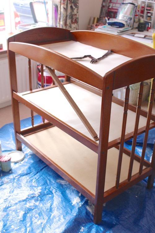 DIY Soy Un Mix. Cambiador bebé
