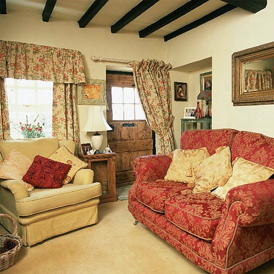 Cottage style sofas living room furniture