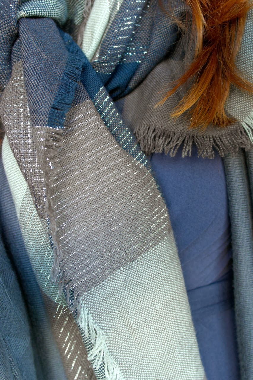 Blue+Grey3 Cosy Cocoon Cardigan