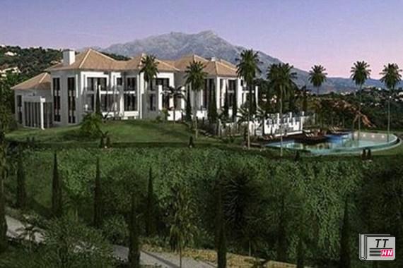 Căn biệt thự sang trọng của Tổng thống Nga Putin ở Tây Ban Nha trị giá 15 triệu USD, rộng 4.000m2- trên một khu đất rộng 18.000m2.