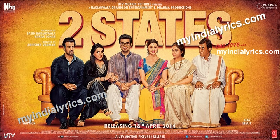Hulla Re Lyrics 2 States Full MP3 Song