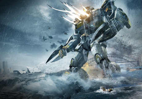 pacific rim  You should watch Pacific