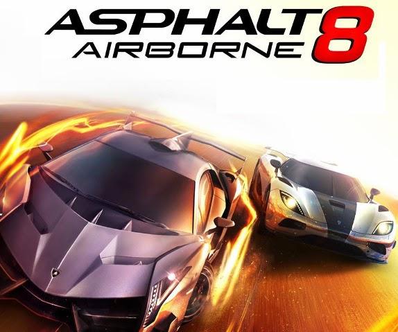 Asphalt 8 Airborne v1.3.2a Apk + Data Mod Unlimited Money
