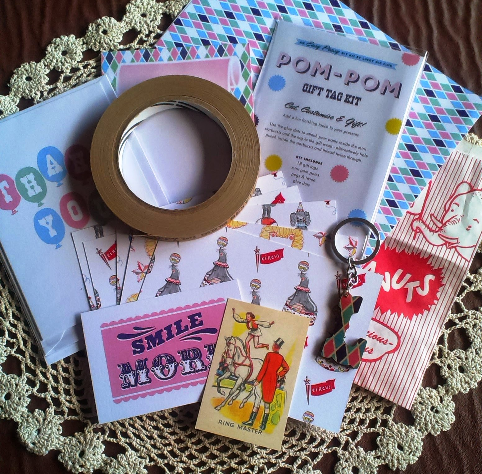 Lucky Dip Club November 2014 Box