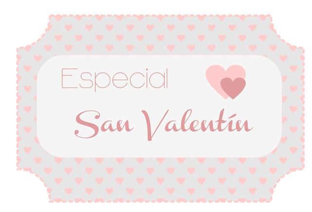 Imprimibles San Valentín
