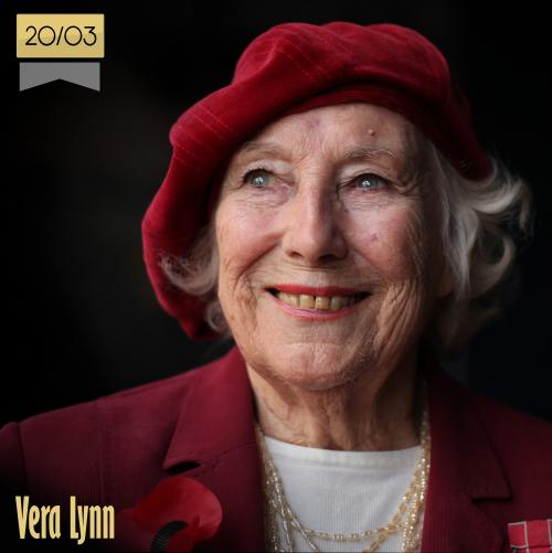 20 de marzo   Vera Lynn - @VeraLynnDecca   Info + vídeos
