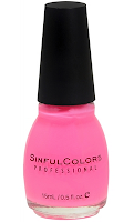 Style Athletics Holiday Gift Guide for Athletes Athletic Girls Sinful Colors Nail Polish Pink