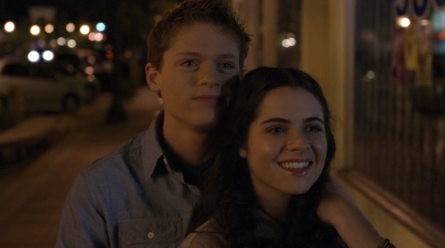 Switched At Birth Bays Art Axe Girl Emmett and bay sean berdy and