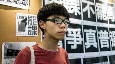 Joshua Wong aktivis hongkong