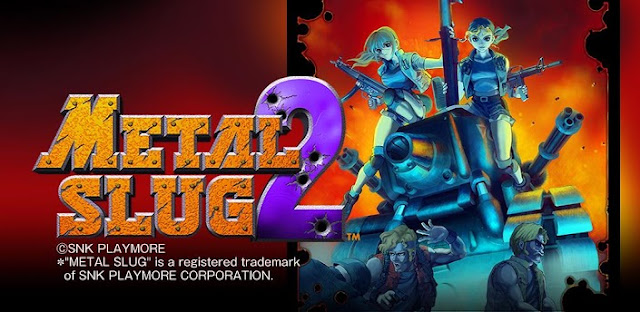[SUPER CLÁSSICO] Download METAL SLUG 2 v1.0 Apk + Data Full Free