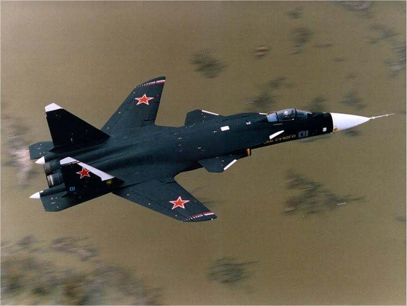 Sukhoi Su-47 Berkut High Manoeuvrability Aircraft