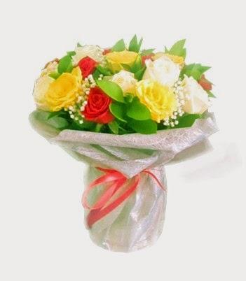 Bunga mawar ulang tahun.