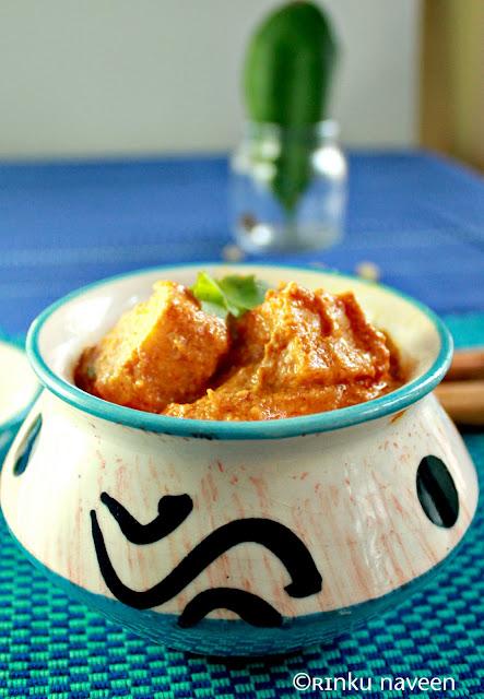 how to make gravy for shahi paneer