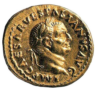 Donacion y moneda romana