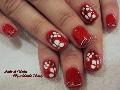 Novas fotos de unhas decoradas de marcela sandy5