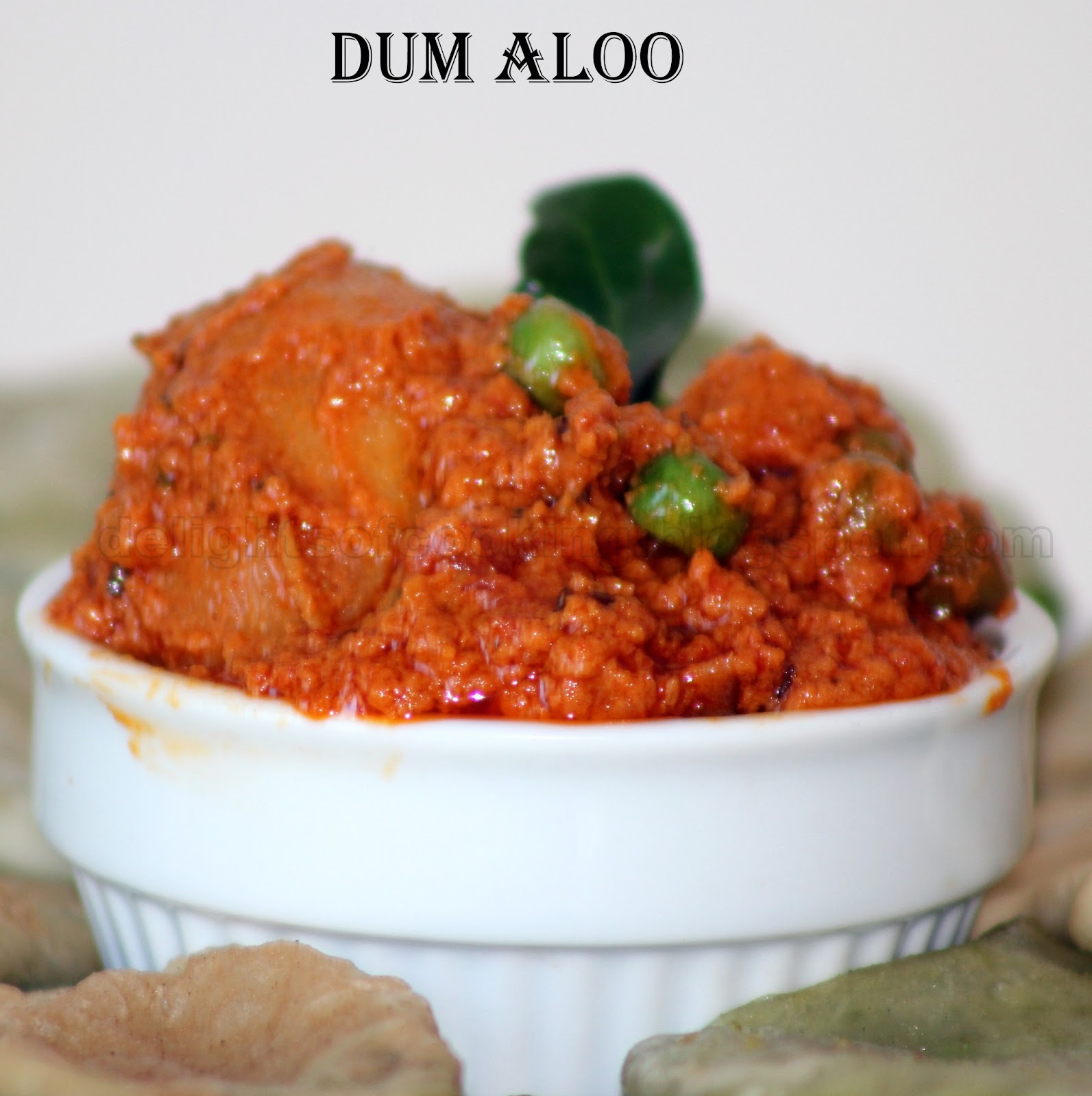Kitchen Chronicles: Matar Kachori with Dum Aloo