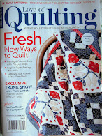 New! free shipping! 2017 Sept/Oct love of quilting!