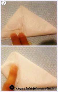 Cara Melipat Plastik, Tips Melipat Kantong Plastik, Cara Melipat kresek, Melipat plastik agar yang Rapi (Wanita Wajib Tahu)