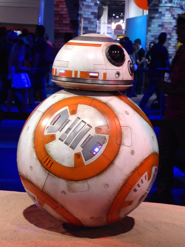 BB-8 droid Star Wars The Force Awakens