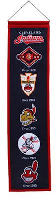 Cleveland Indians MLB Heritage Banner