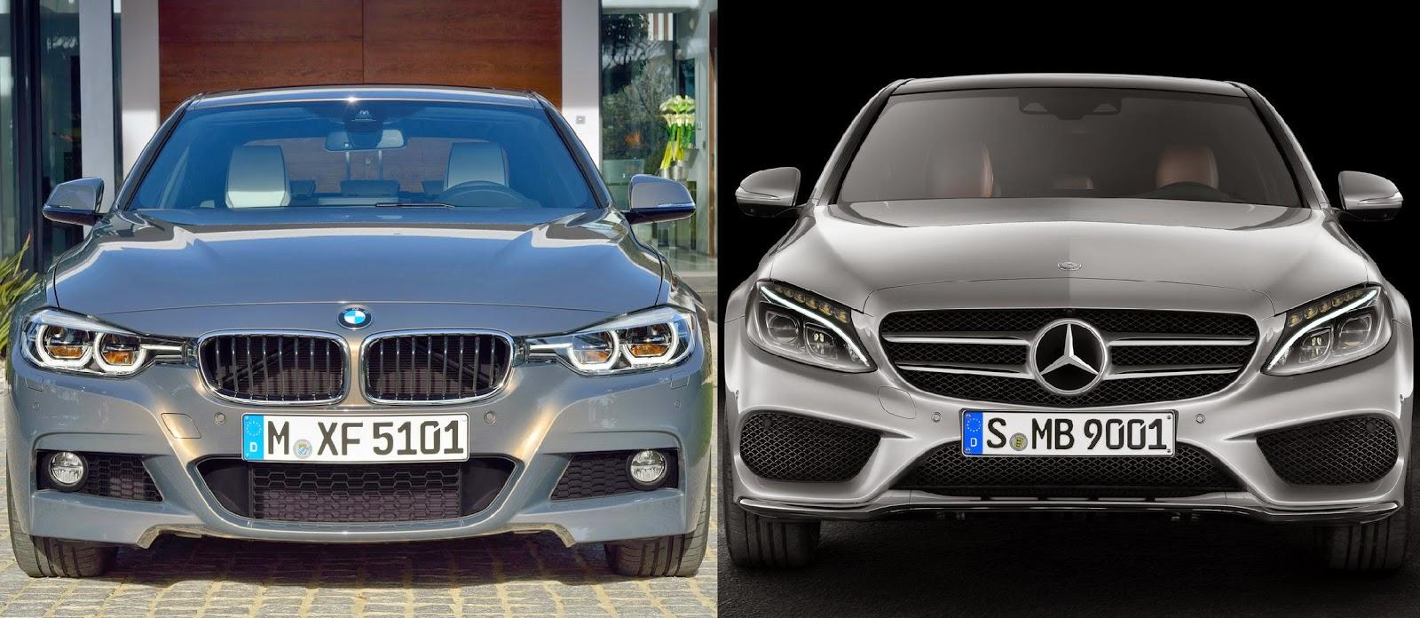 Makyajlı BMW 3 Serisi M Sport Paket - Mercedes C Sınıfı ...