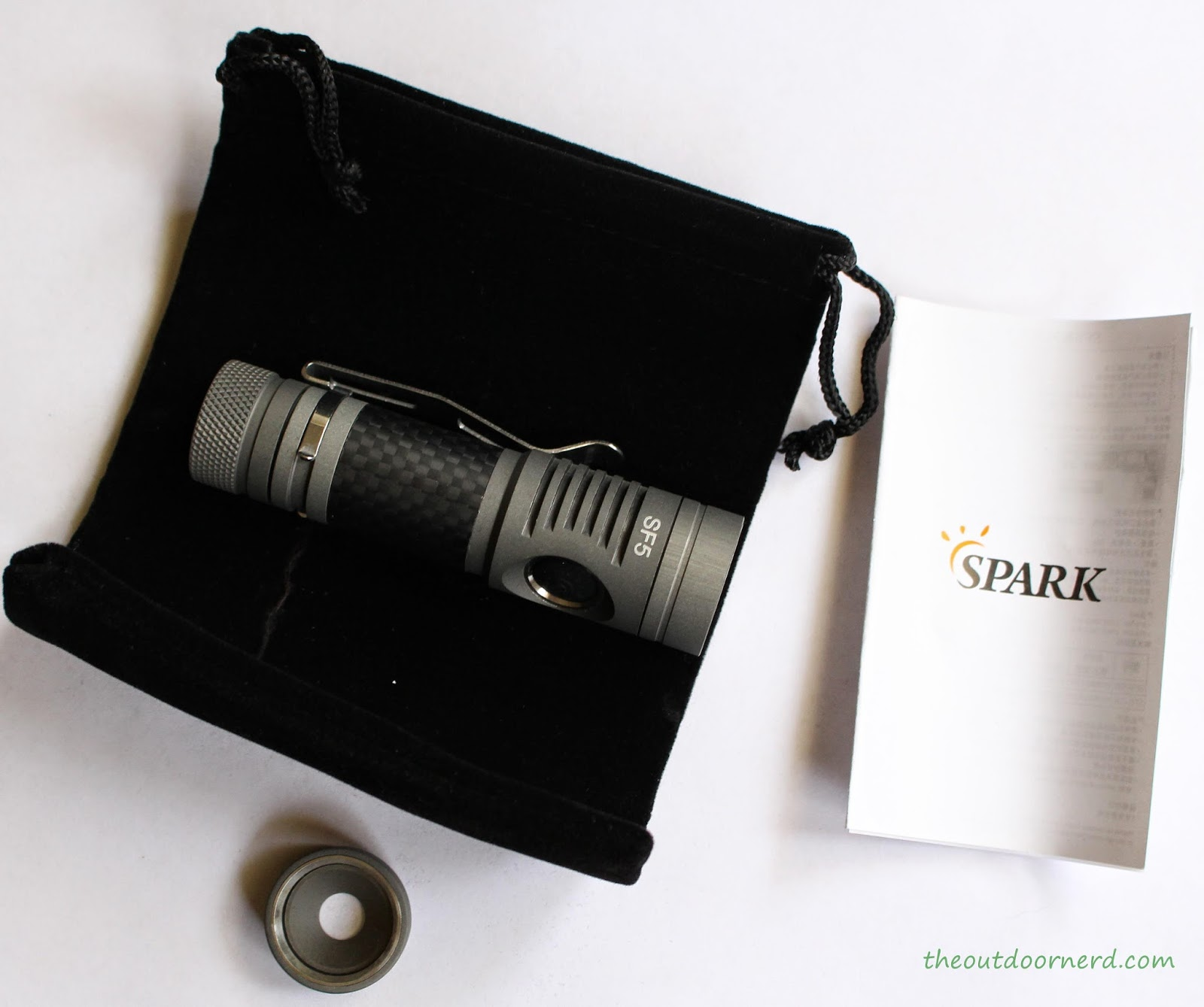 Spark SF5 1xAA Flashlight: Unboxed 1