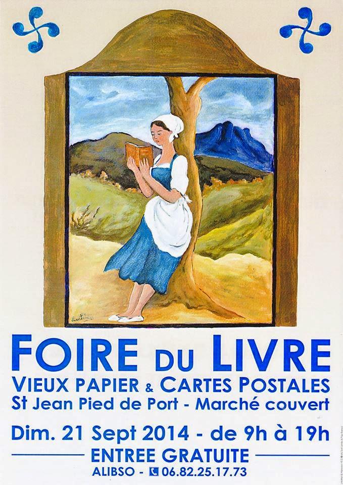 Saint Jean Pied de Port : salon du livre ancien 2014