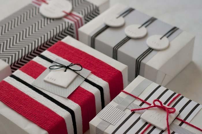 как упаковать подарки