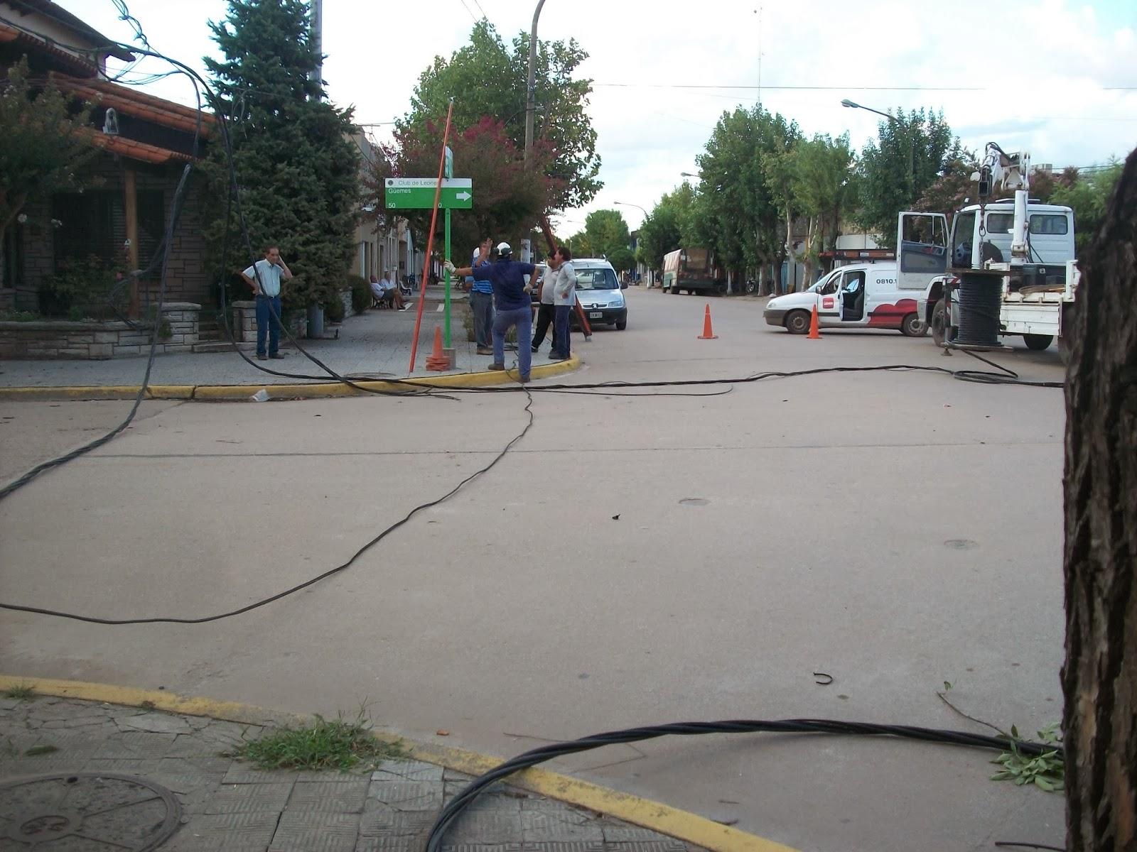 Casares On Line Un Cami N Arranco Los Cables En San