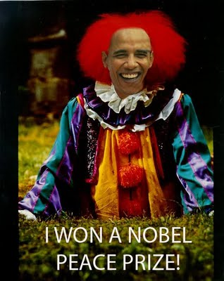 obama ass clown