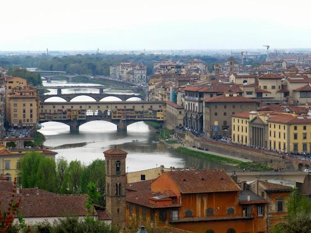 Panorámica de Florencia, en Italia