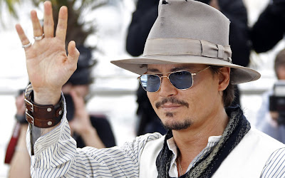 Johnny Depp Sunglasses Wallpapers