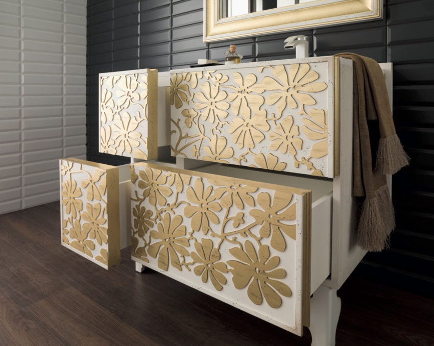 Revestimientos y mobiliario para ambientes primaverales - Muebles de bano porcelanosa ...