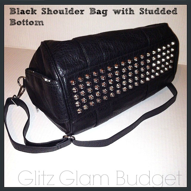 Studded Bottom Purse