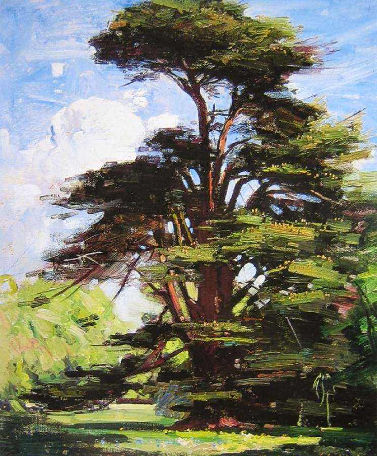 Image result for cedar tree paintings