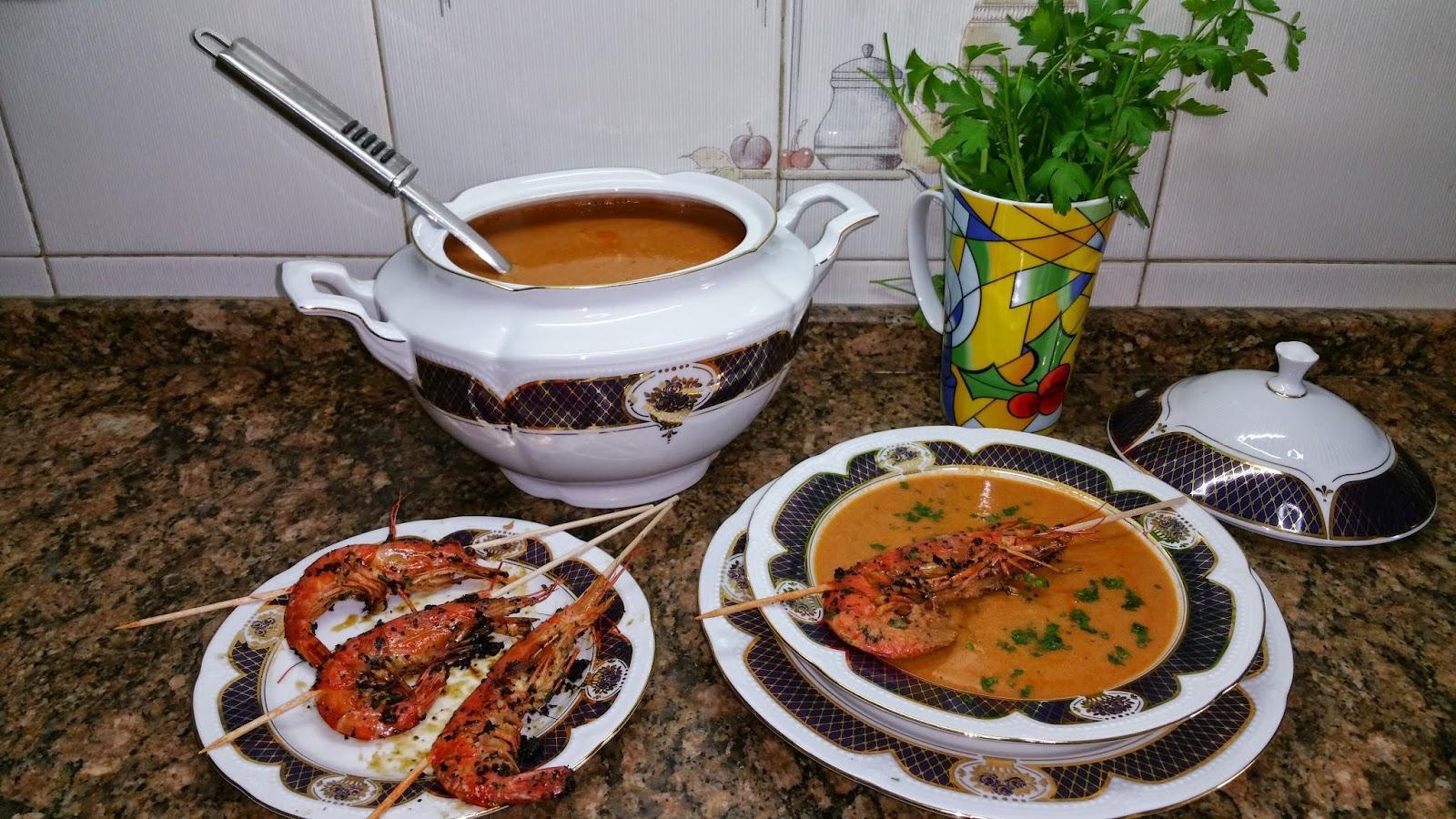 Crema de marisco la cocina tradicional de cambalache3 for Cocina tradicional