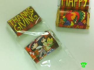 Thanksgiving Candy Bar Wrapper Favor